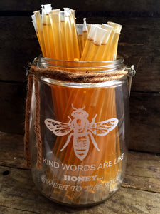 Honey Sticks - .25 oz each (1 teaspoon)
