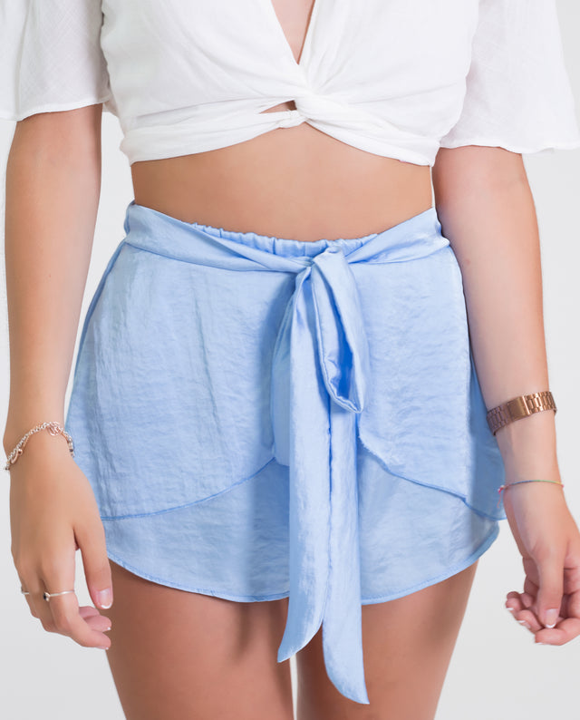SHORTS TWIST · AZUL