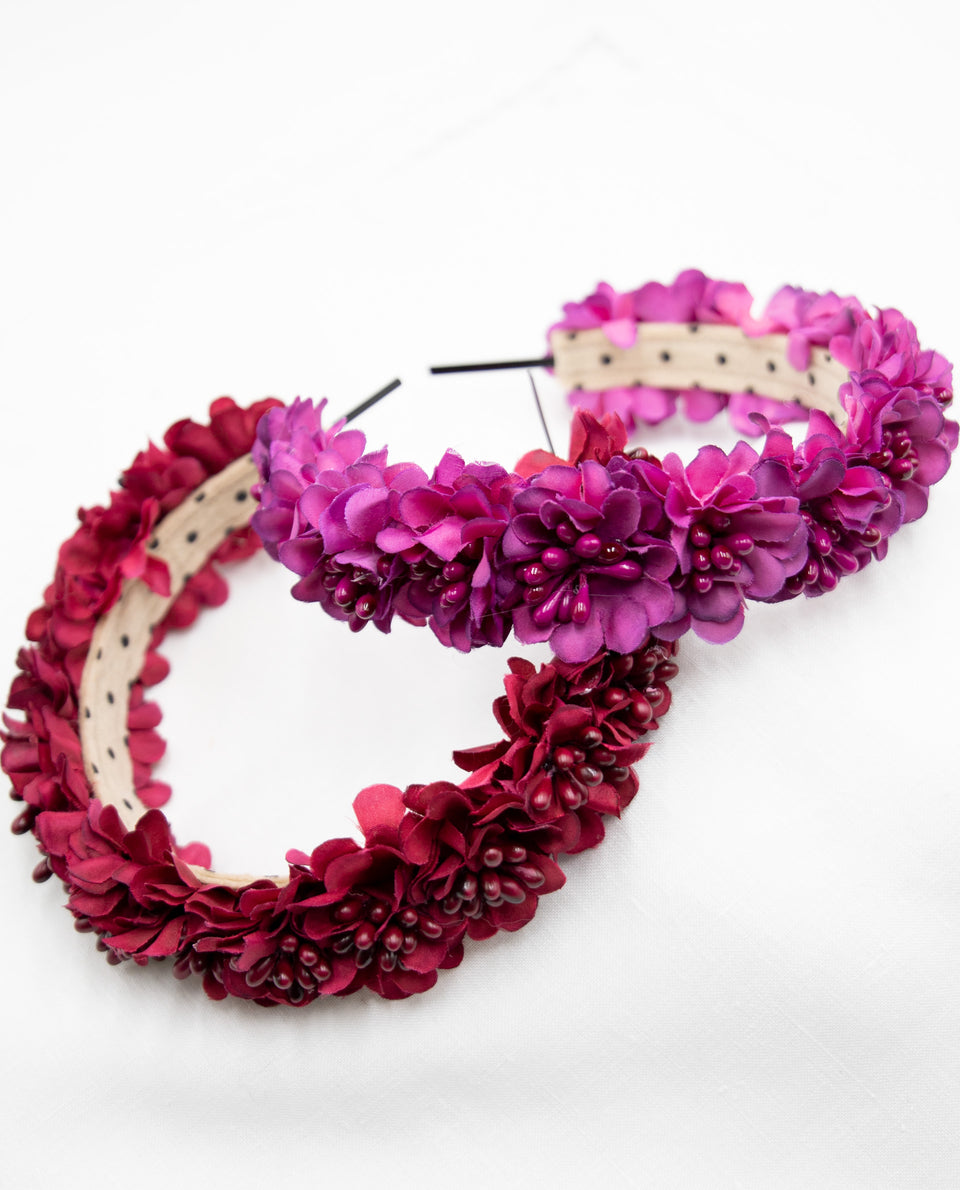 DIADEMA DAISY | Diadema flores colores | Complementos y accesorios invitadas THE-ARE