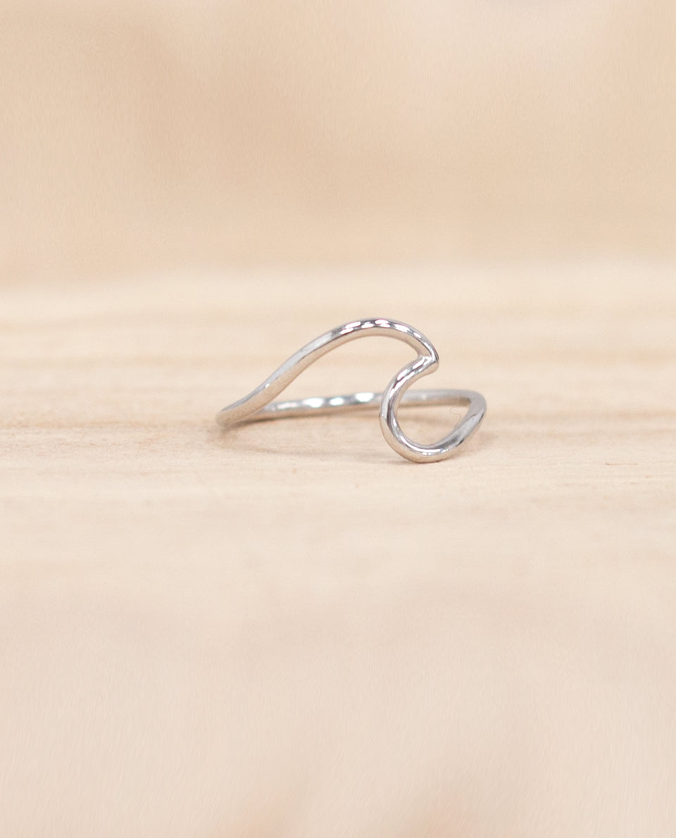 Anillo ola plata mujer | Complementos y joyas | THE-ARE