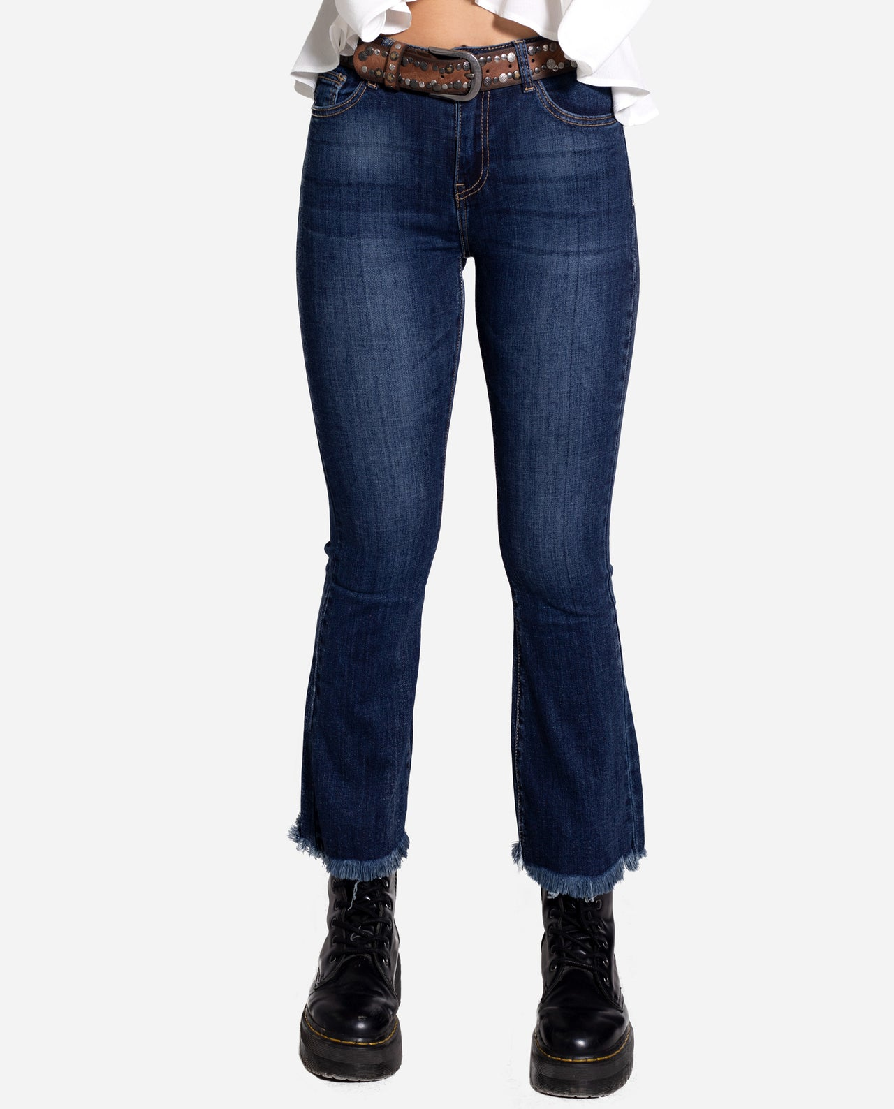 Blue Cowboy Flare Of Unhilly Woman Jeans Flare Blues The Are