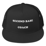 SECOND BASE COACH CAP