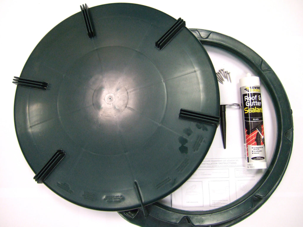 "19"" Retrofit Green Screw/cap lid"
