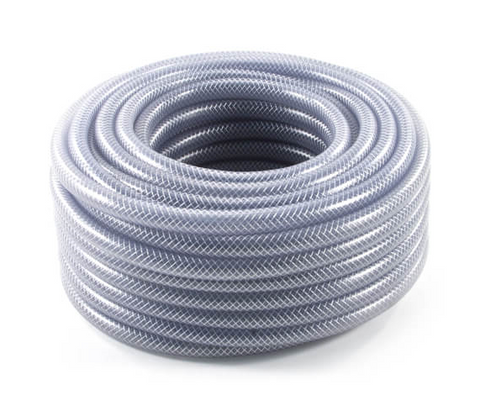 "3/4"" Clear Braided Hose"