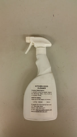 Kitchen hood cleaner