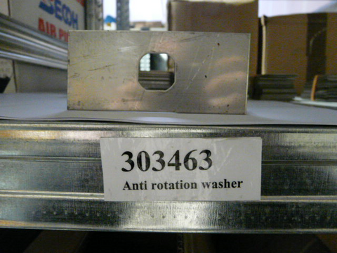 Anti-Rotation Washer