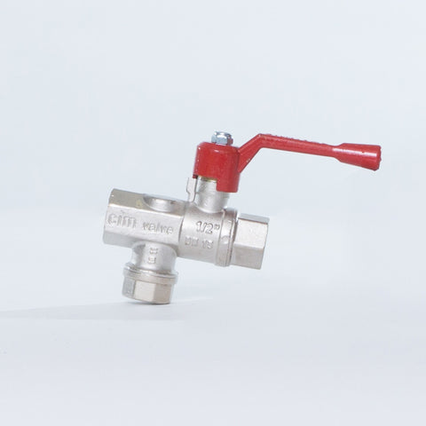 "Ball Valve 1/2"" (For all Titan tanks)"