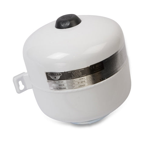 12 Litre Expansion Vessel with brackets for wall mounting