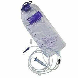 Box of 30 NEW Covidien Kangaroo 1000 ml Gravity Feeding Bag 8884702500 FREE Shipping - MBR Medicals