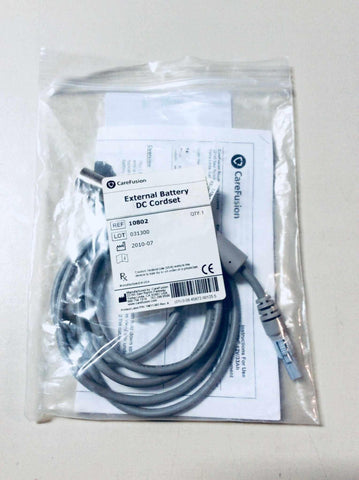 NEW CareFusion Pulmonetic Systems LTV Medical Ventilator External Battery DC Cordset 10802 Warranty FREE Shipping - MBR Medicals