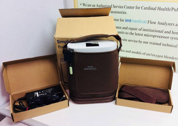 NEW Demo Philips Respironics SimplyGo Mini Oxygen Concentrator 1113602 - MBR Medicals