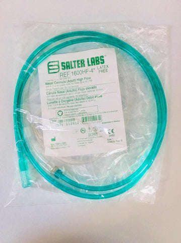 NEW Salter Labs Adult High Flow Nasal Cannula 1600HF-4 - MBR Medicals