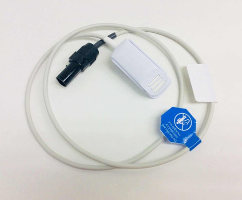 NEW Ohmeda SpO2 Pulse Oximeter 3' Foot Adult Finger Probe TCPF-1612-0112 Warranty FREE Shipping - MBR Medicals