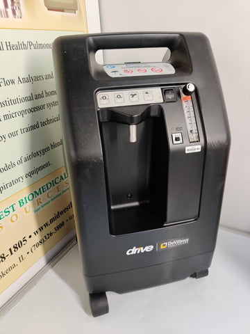 REFURBISHED DeVilbiss 5 Liter Compact Oxygen Concentrator 525DS Warranty FREE Shipping - MBR Medicals