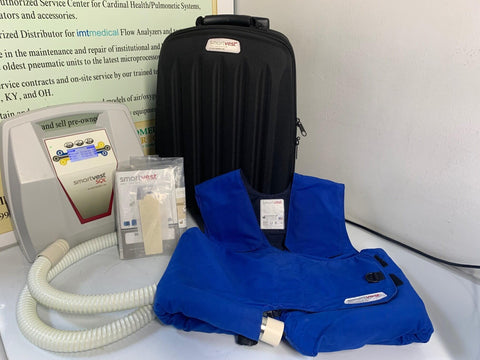 REFURBISHED Electromed SmartVest SQL Clearance System HFCWO W/ Accessories Warranty FREE Shipping - MBR Medicals