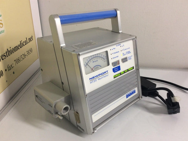 REFURBISHED Newport Medical Instruments HT50 Medical Ventilator HT50-H1 Warranty FREE Shipping - MBR Medicals