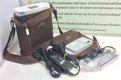 REFURBISHED Philips Respironics SimplyGo Mini Portable Oxygen Concentrator 1113601 - MBR Medicals