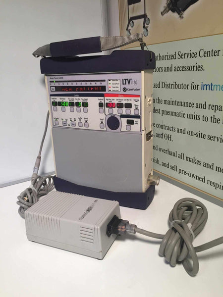 Used Carefusion LTV 1150 Ventilator with Power Supply 12 Month Warranty 18984-001 - MBR Medicals