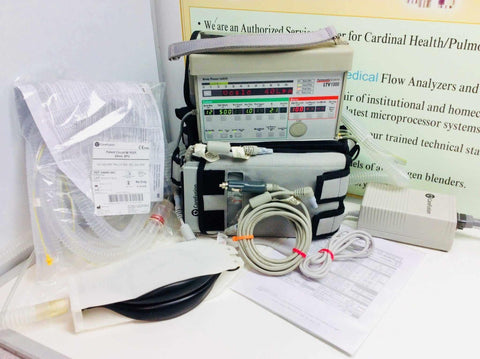 Used CareFusion Pulmonetic LTV1000 Medical Ventilator with Mobile Package Warranty FREE Shipping - MBR Medicals