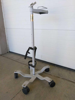USED CareFusion Pulmonetics Ventilator LTV Floor Stand W/ Oxygen Cylinder Ring 10611 Warranty FREE Shipping - MBR Medicals