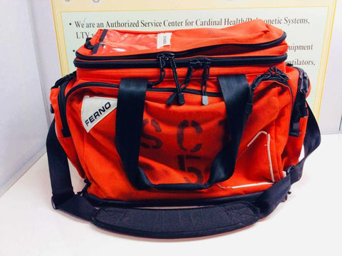 USED Ferno EMS/EMT Medic First Aid Ambulance Trauma Bag 5108 P838888-00 FREE Shipping - MBR Medicals