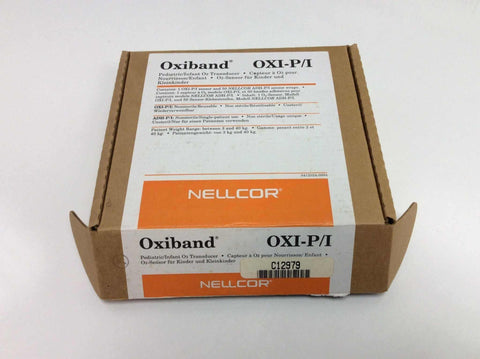 USED Nellcor OxiBand Oxi-P/I Oximeter Transducer - Pulse C12979 with 50 ADH-P/I Sensor Wraps C12980 Warranty FREE Shipping - MBR Medicals