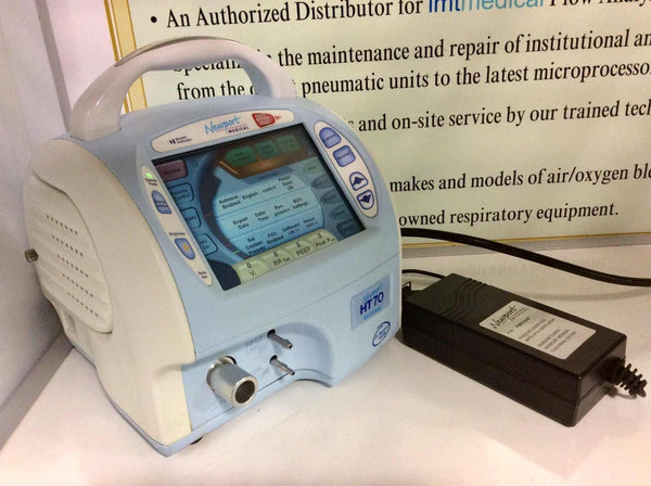 USED Newport HT70 BiPap Ventilator HT70M-WW-NA with Power Supply Warranty FREE Shipping - MBR Medicals