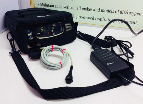 USED Nonin 7500 Pluse Oximeter IPX2 with Accessories Warranty FREE Shipping - MBR Medicals