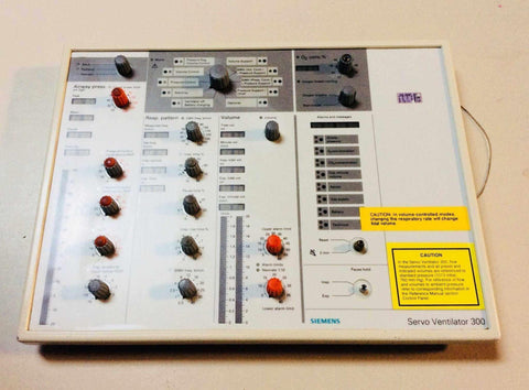 USED Siemens Servo 300 SV 300 Ventilator Control Panel PC 1614 PC 1588 FREE Shipping - MBR Medicals