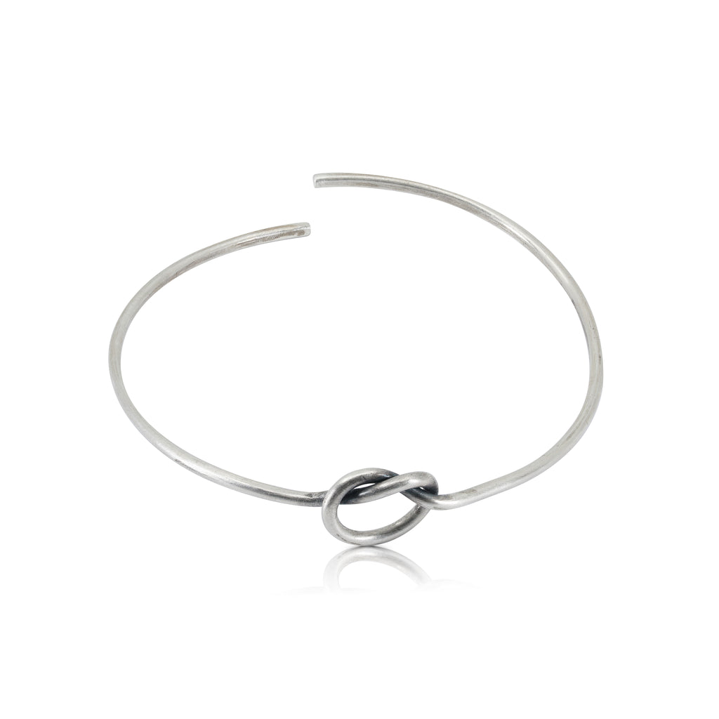 Sterling Silver Designer Knot Bracelet by Designers Abreme Despacio on IndieFaves
