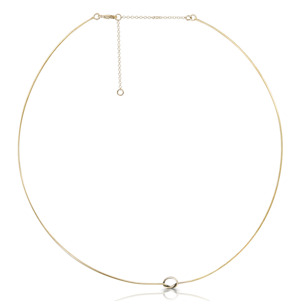 Rent Designer Jewelry - Abreme Despacio - Knot Necklace