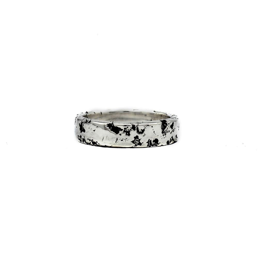 Rent Designer Jewelry - Albert Tse - Eon Ring 6mm Silver Oxidised