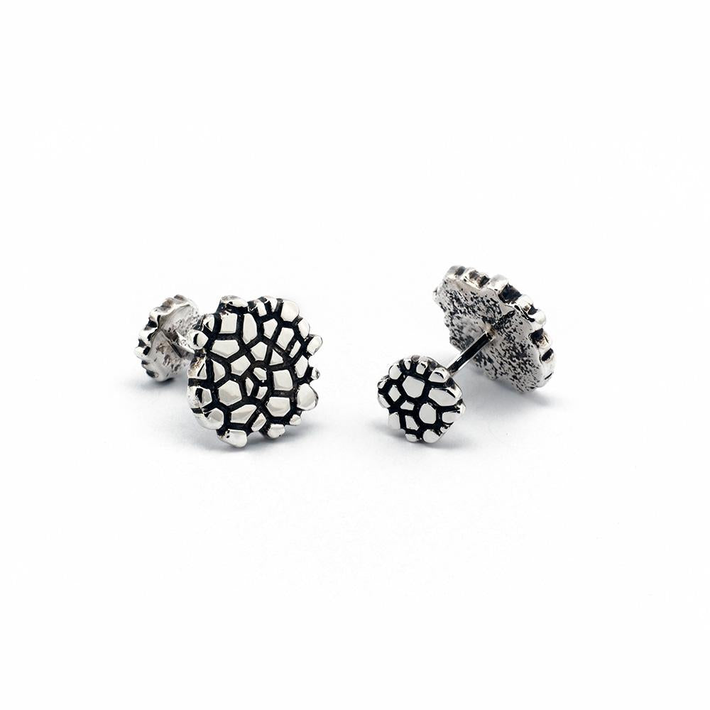 Oxidized Sterling Silver Wanderer Designer Cufflinks on IndieFaves