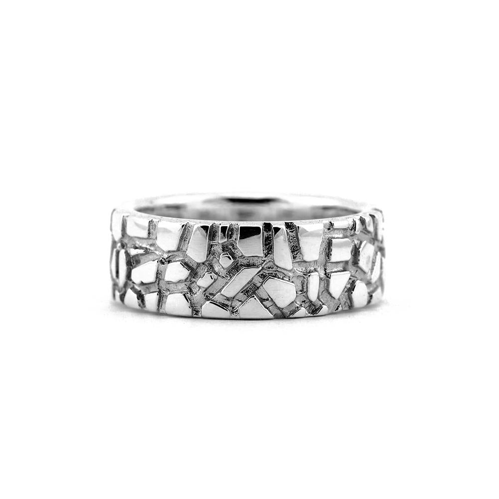 Sterling Silver Wanderer 8 Designer Ring on IndieFaves