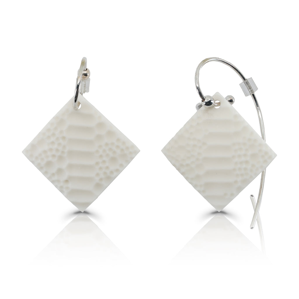 Porcelain SKIN Designer Earrings on IndieFaves