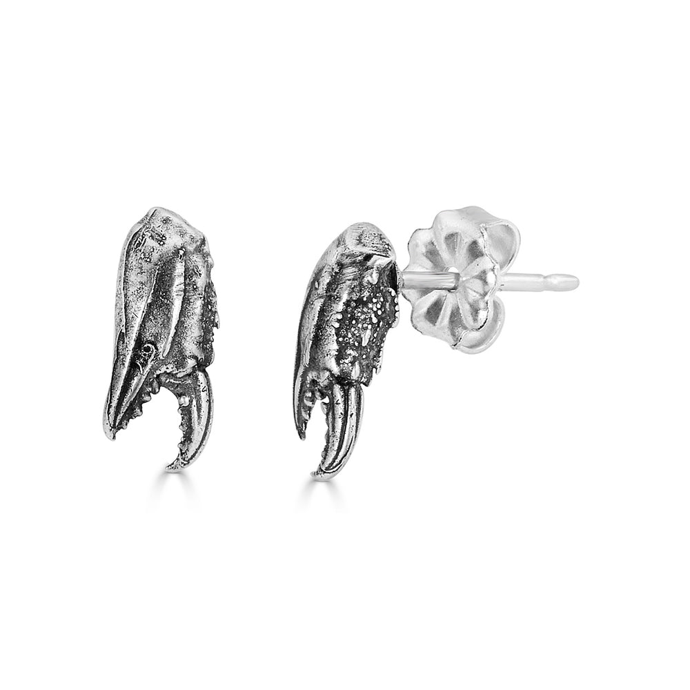 Birds N Bones - Petite Crab Claw Designer Studs on IndieFaves