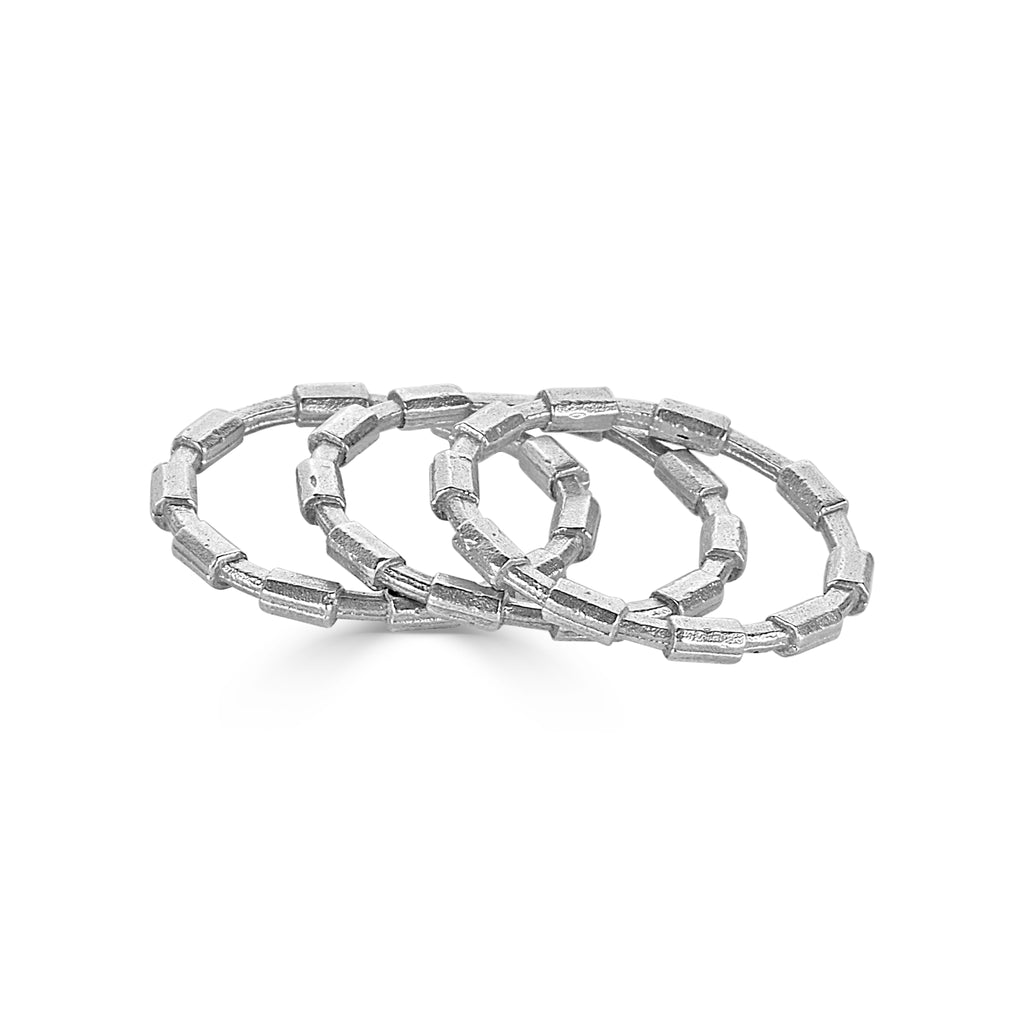 Dream of Songs - Stacked Brick Designer Ring on IndieFaves