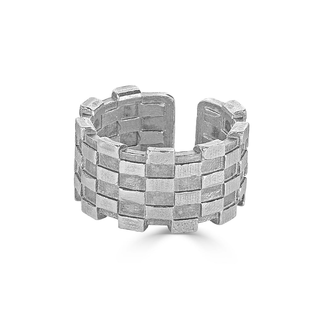Dream of Songs - Tall Brick Designer Ring on IndieFaves