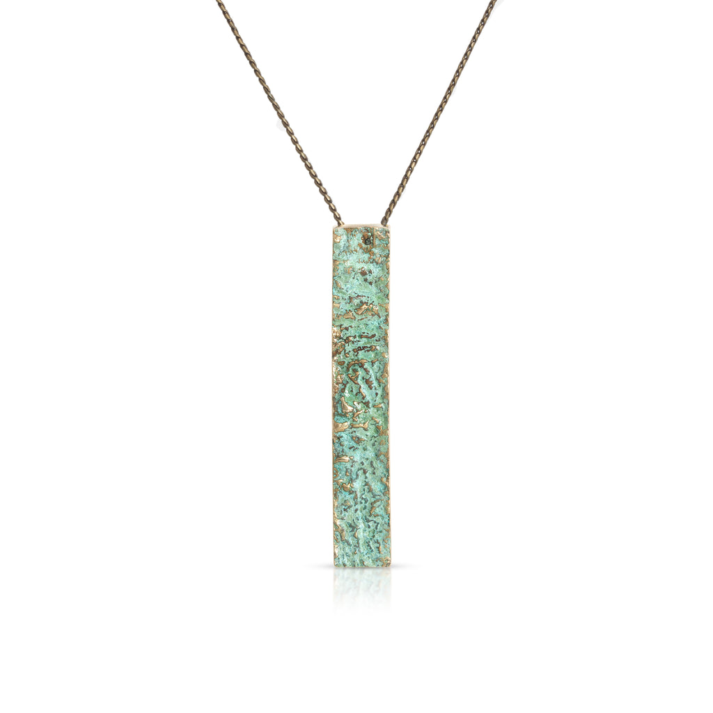 Elena Perez - Wide Moss Designer Pendant on IndieFaves