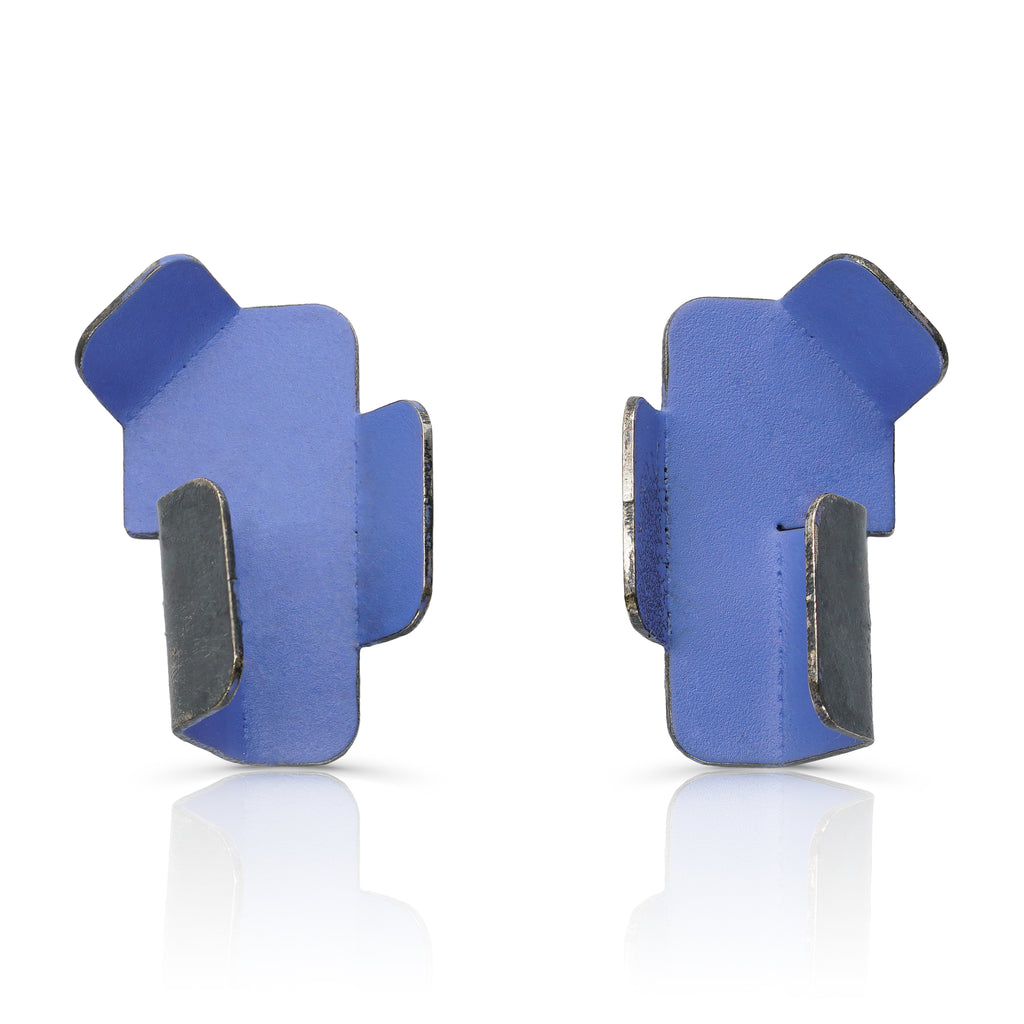 Gemma Canal - Plegs Earrings Shape 2 Blue