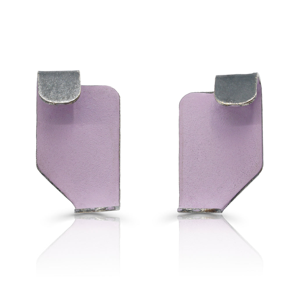 Gemma Canal - Plegs Earrings Shape 6 Lilac