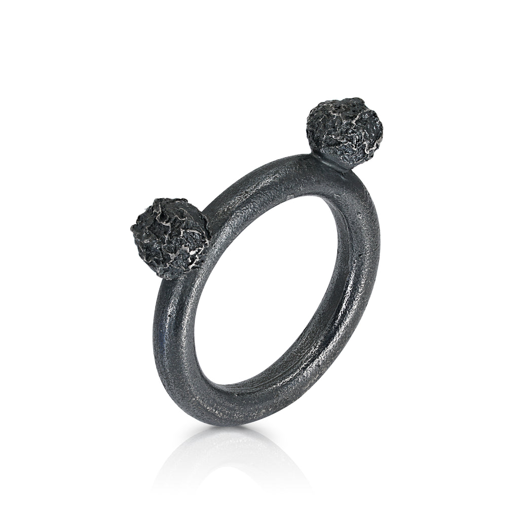 Gemma Canal - Twings Ring Black
