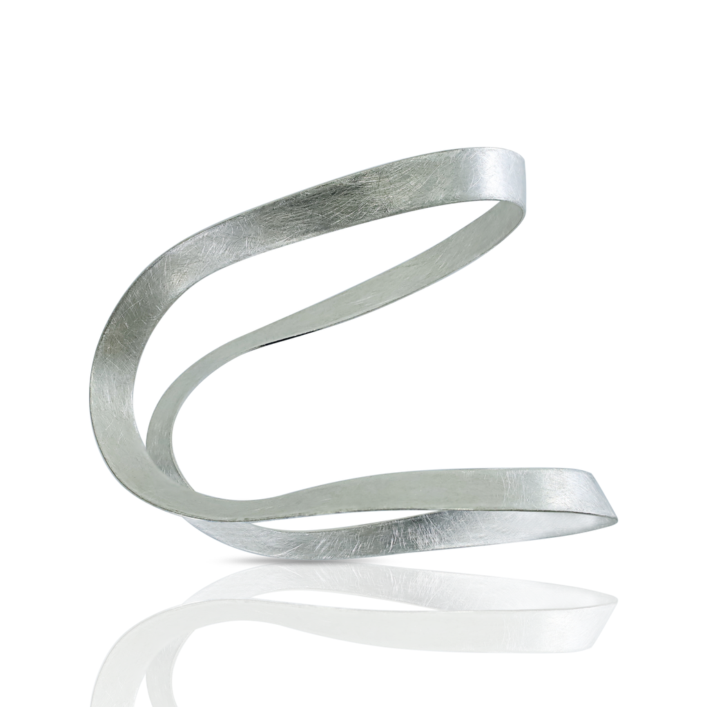 Kimah by Soraya Camacho - One-Of-A-Kind Silver Nodo Bracelet