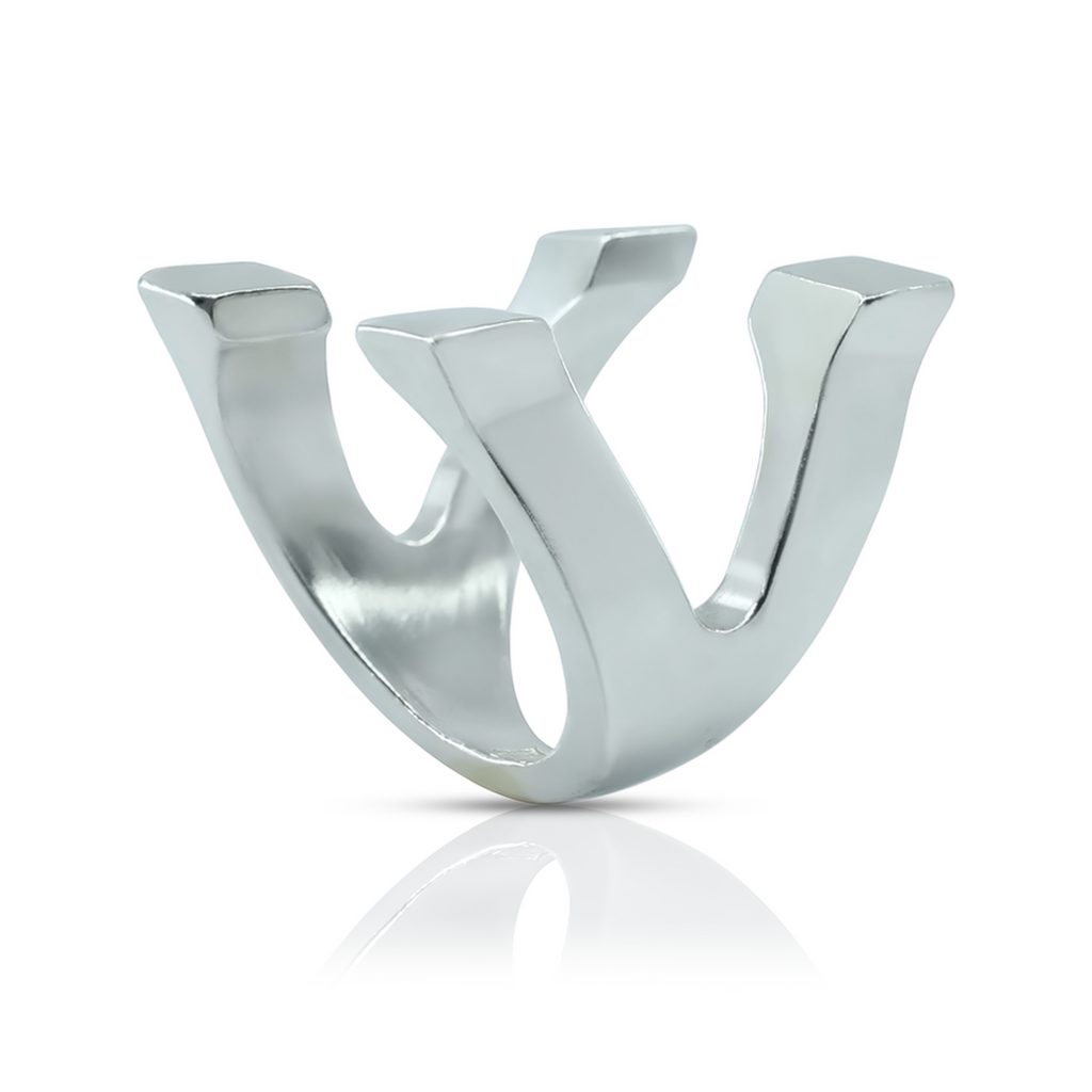 Linn Sigrid Bratland - Sterling Silver Fundament Cube Designer Ring on IndieFaves