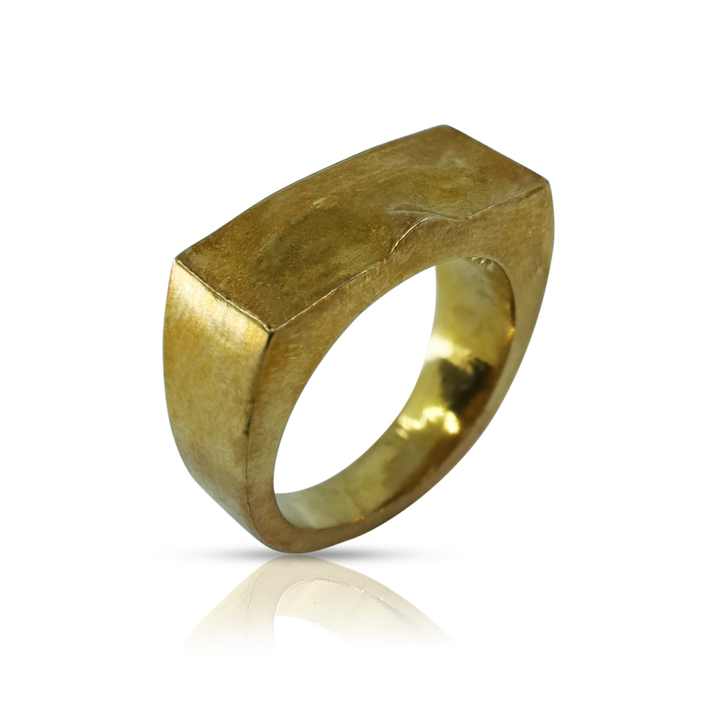 Linn Sigrid Bratland  - Gold Masquerade Designer Ring on IndieFaves