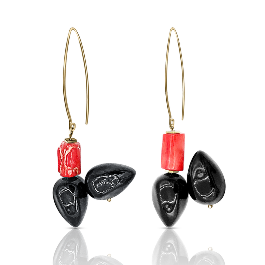 Mara Colecchia - Cubism Designer Earrings on IndieFaves
