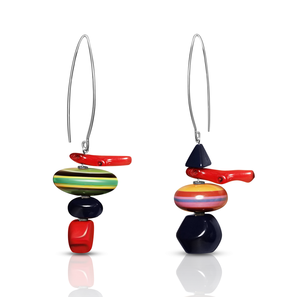Mara Colecchia - Merry Go Round Designer Earrings on IndieFaves