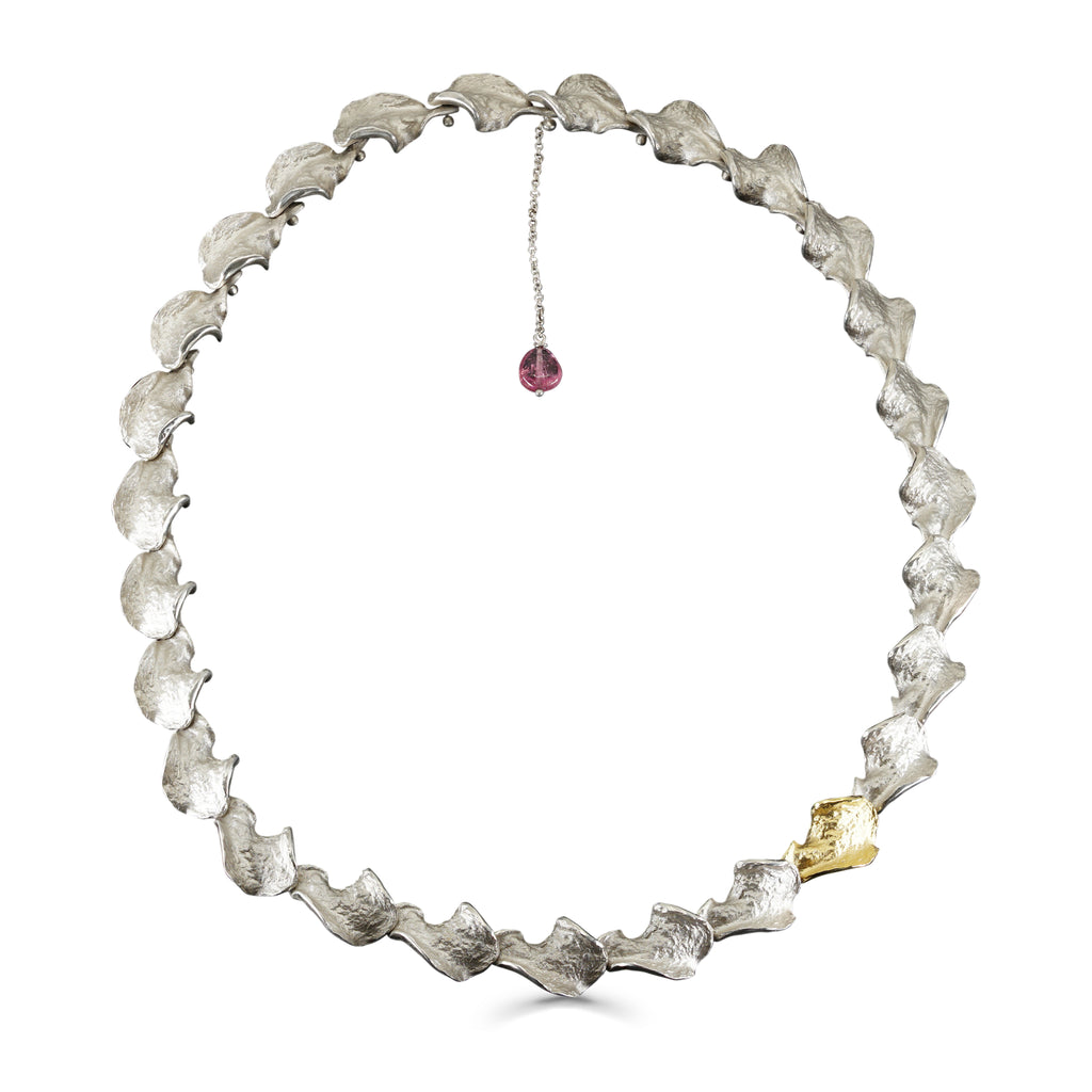 Mara Soriano - AKI Necklace with Pink Tourmaline