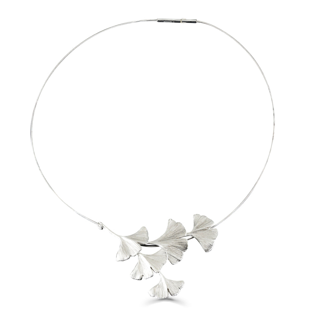 Mara Soriano - Gingko Designer Necklace on IndieFaves