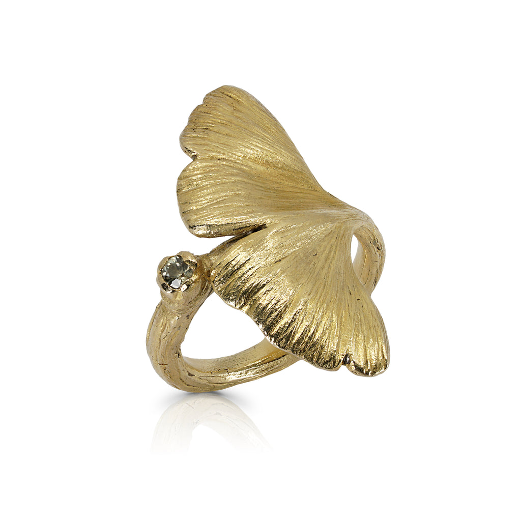 Mara Soriano - Gingko Designer Ring on IndieFaves